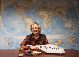 "SPSU President, Dr. Lisa A. Rossbacher makes diversity one of her big ""rocks."""