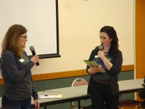 Faculty member Laura Beth Daws and Chelsea Feraco talk about SPSU.