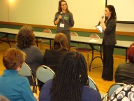 Student Victoria Knox and Chelsea Feraco talk about student concerns.